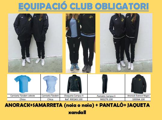 EQUIPACIO CLUB